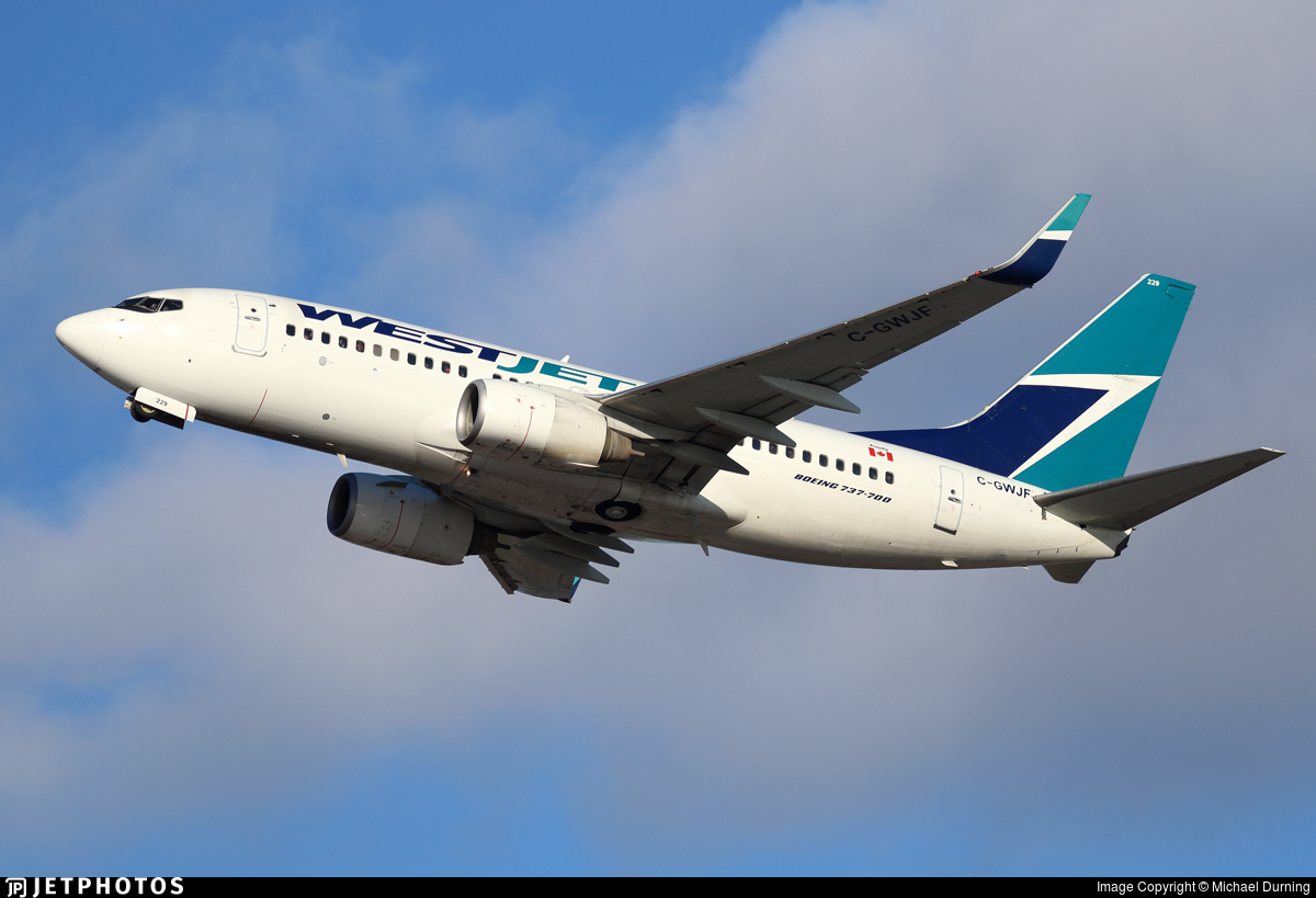 C-GWJF - Boeing 737-7CT - WestJet Airlines