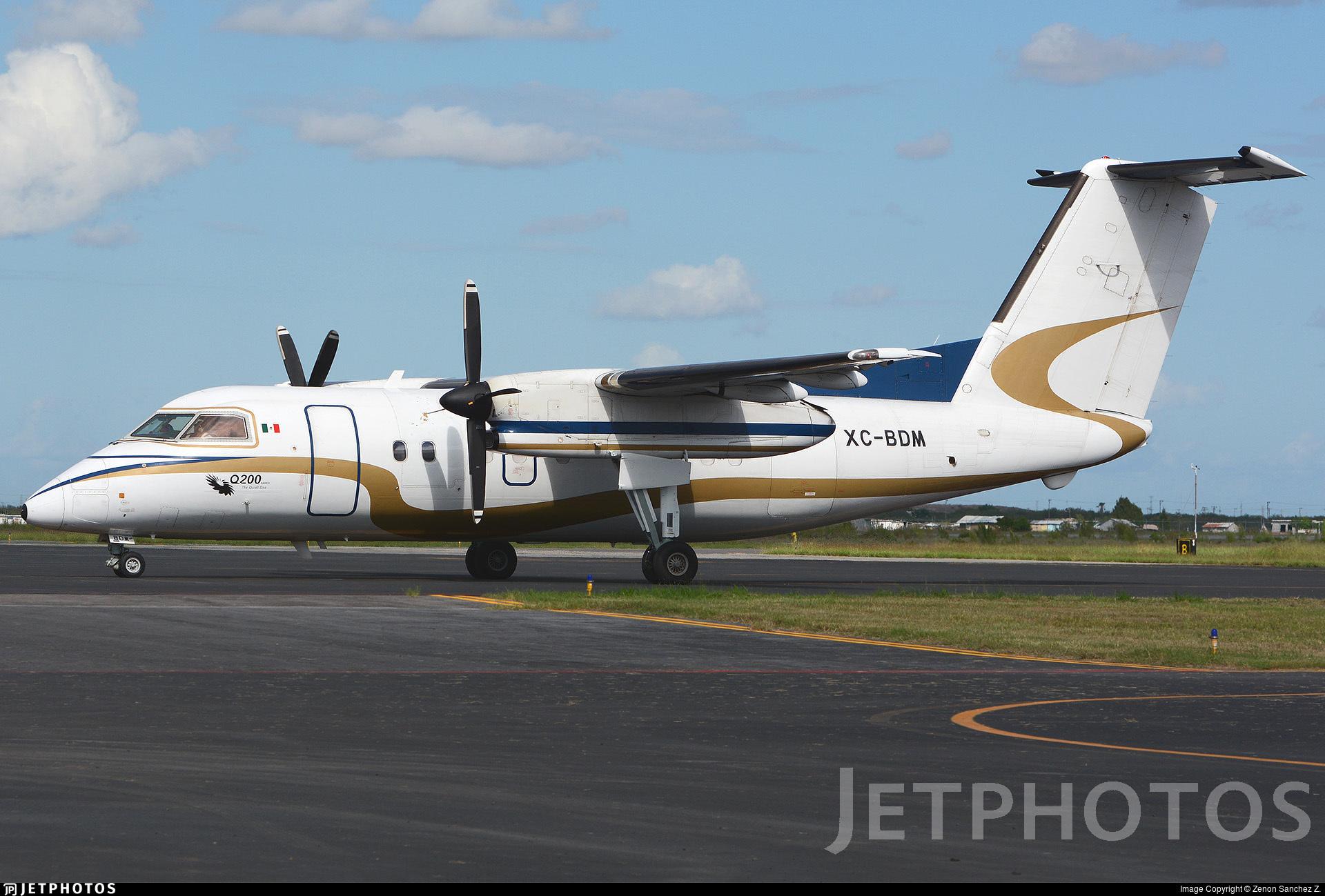 XC-BDM - Bombardier Dash 8-Q201 - Mexico - Government