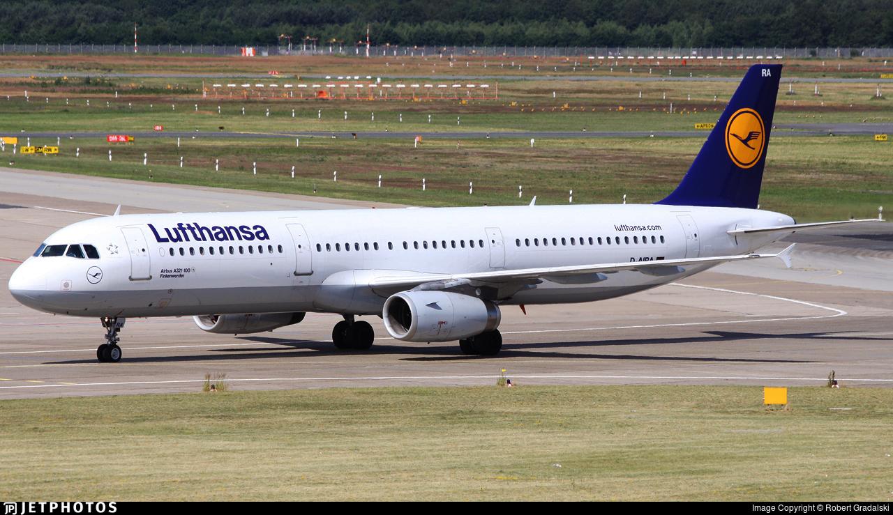 D-AIRA - Airbus A321-131 - Lufthansa