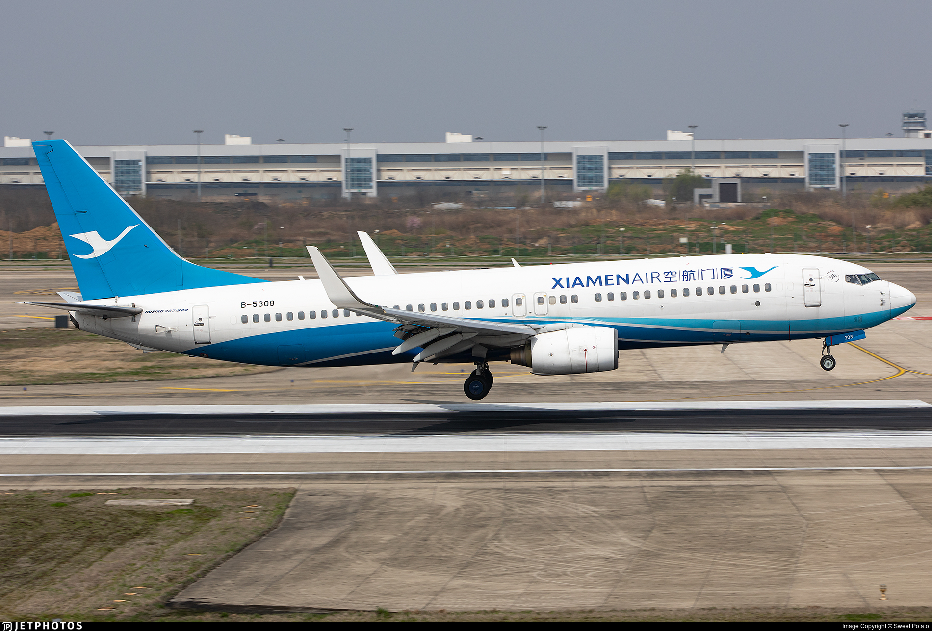 B-5308 - Boeing 737-86N - Xiamen Airlines