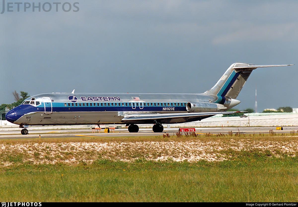 N8920E - McDonnell Douglas DC-9-31 - Eastern Air Lines