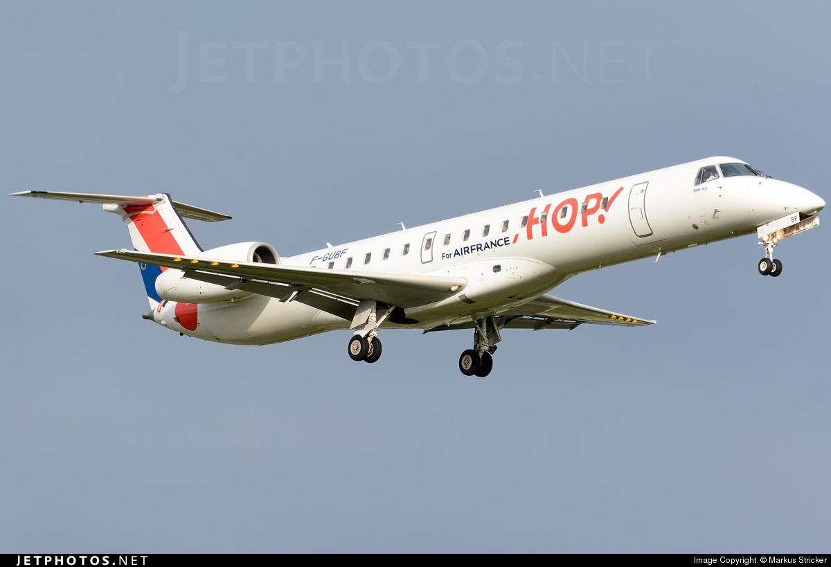 F-GUBF - Embraer ERJ-145MP - HOP! for Air France