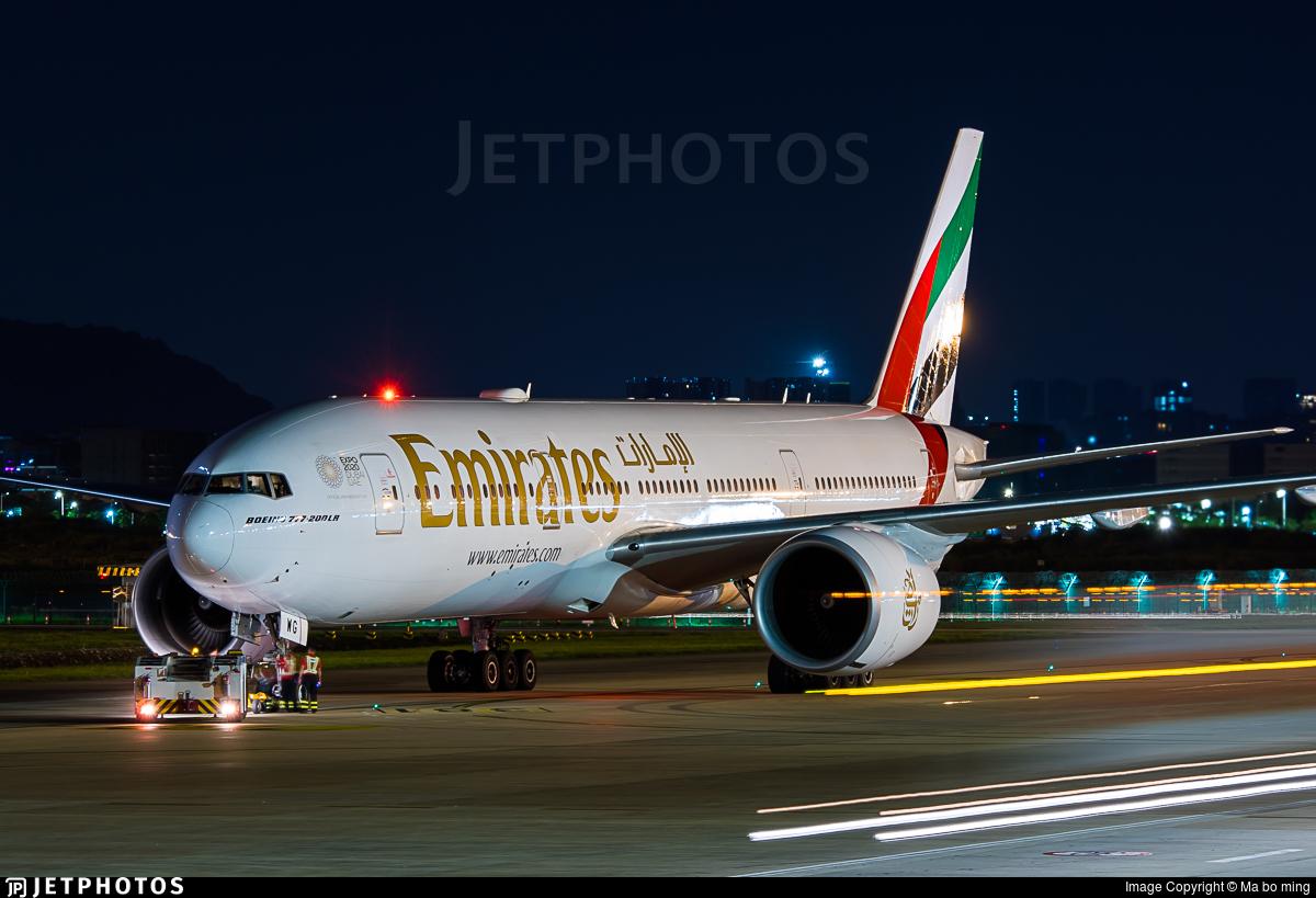 A6-EWG - Boeing 777-21HLR - Emirates