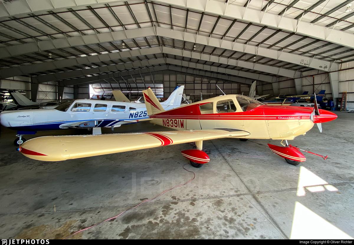 N8391W - Piper PA-28-180 Cherokee C - Private