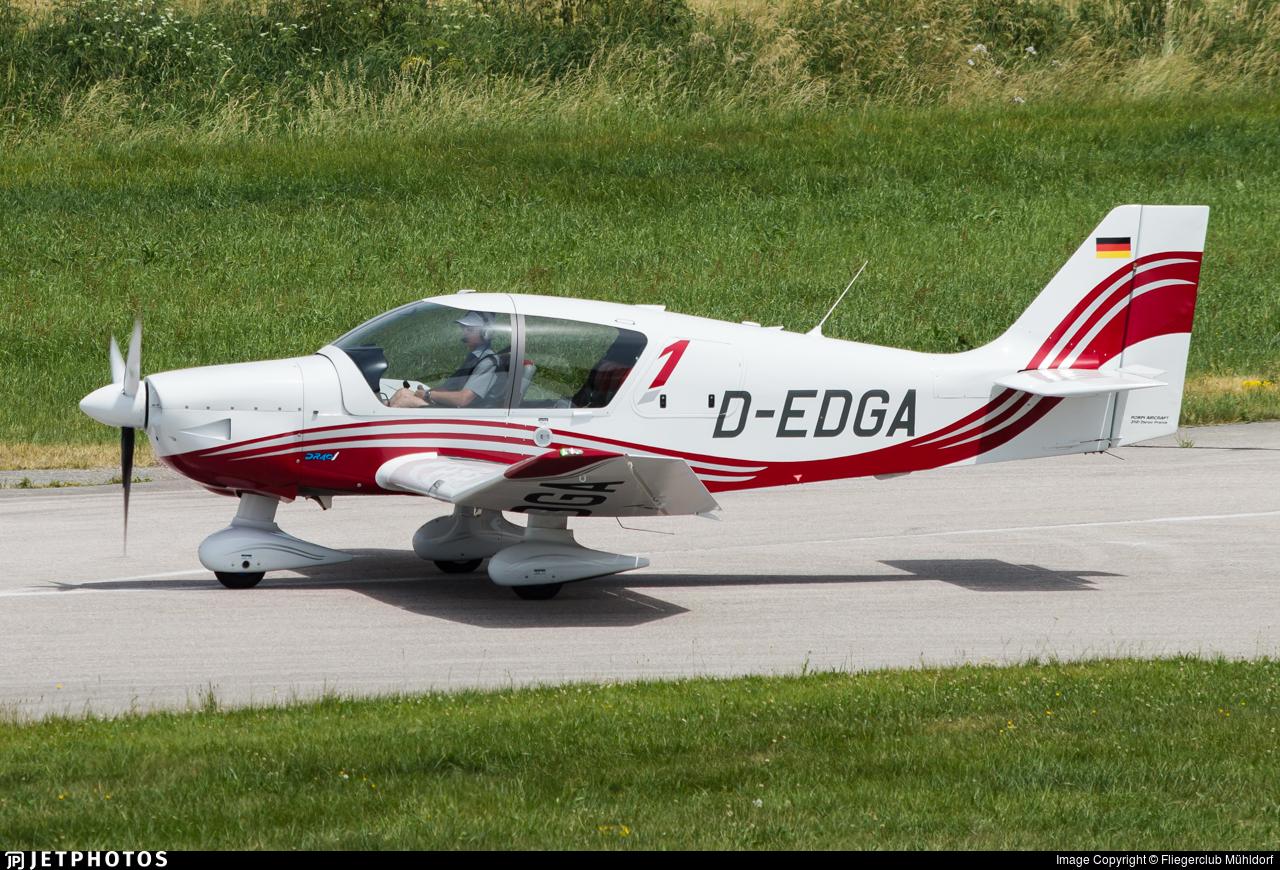 D-EDGA - Robin DR401/155CDI - Luftsportverein Biberach