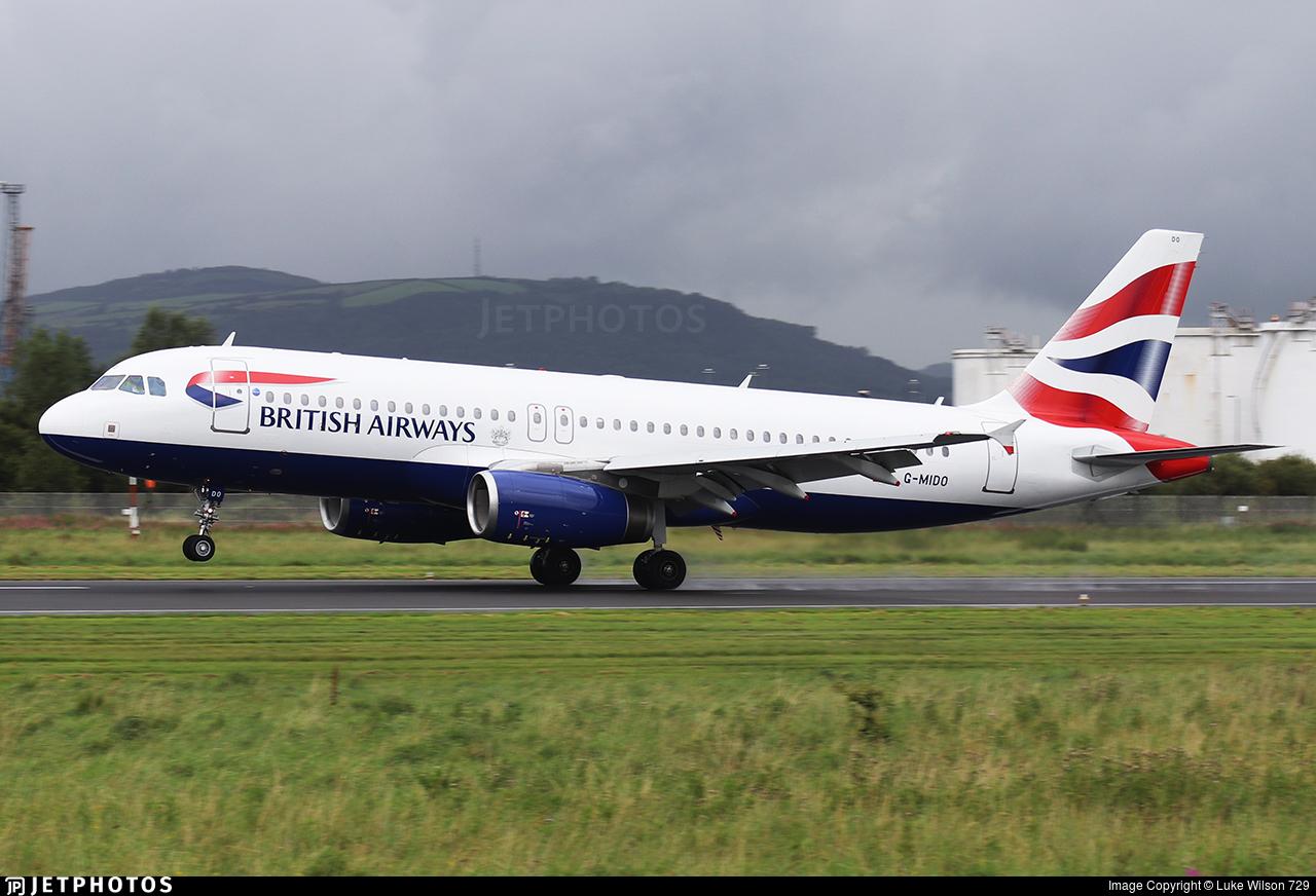 G-MIDO - Airbus A320-232 - British Airways