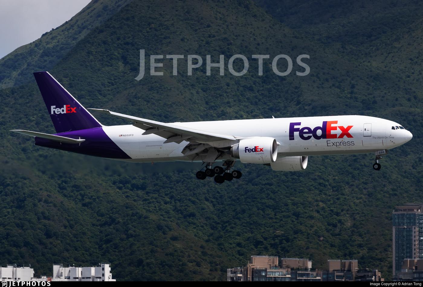 N888FD - Boeing 777-FS2 - FedEx
