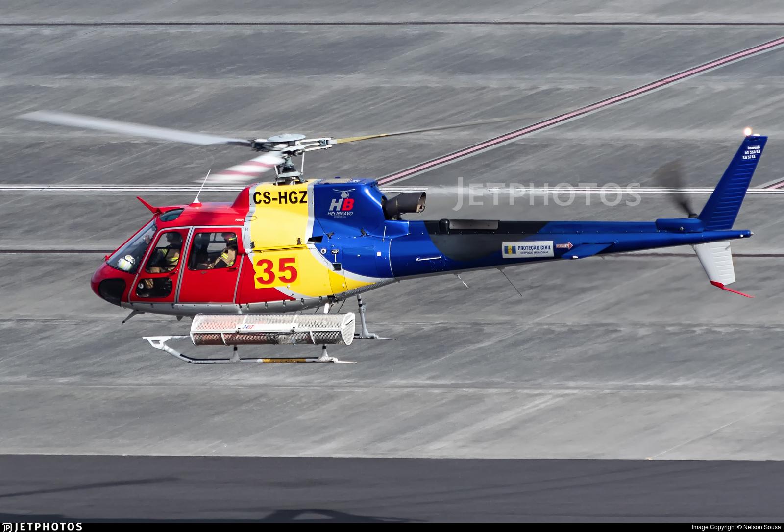 CS-HGZ - Aérospatiale AS 350B3 Ecureuil - HeliBravo