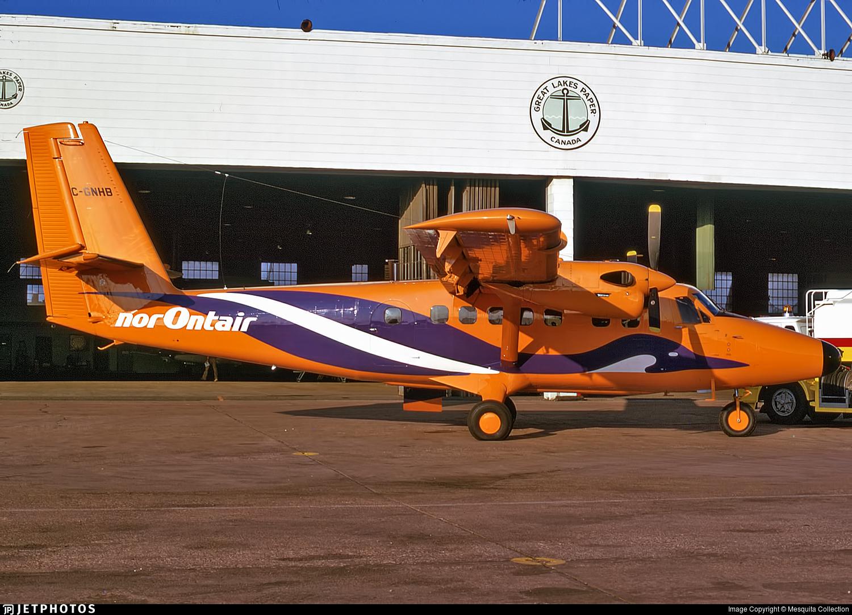 C-GNHB - De Havilland Canada DHC-6-300 Twin Otter - Norontair