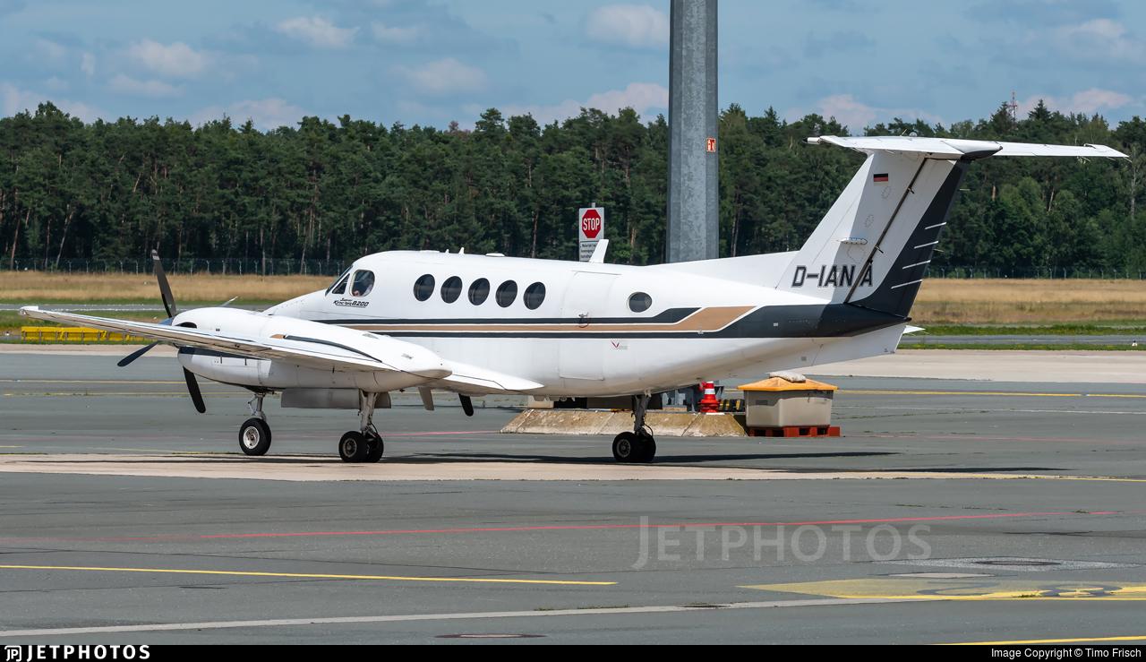 D-IANA - Beechcraft B200 Super King Air - Dix Aviation