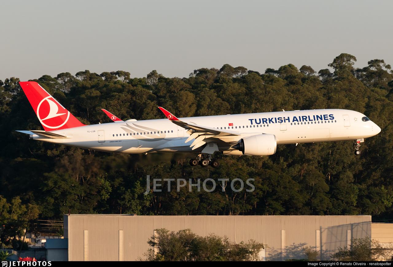 TC-LGB - Airbus A350-941 - Turkish Airlines