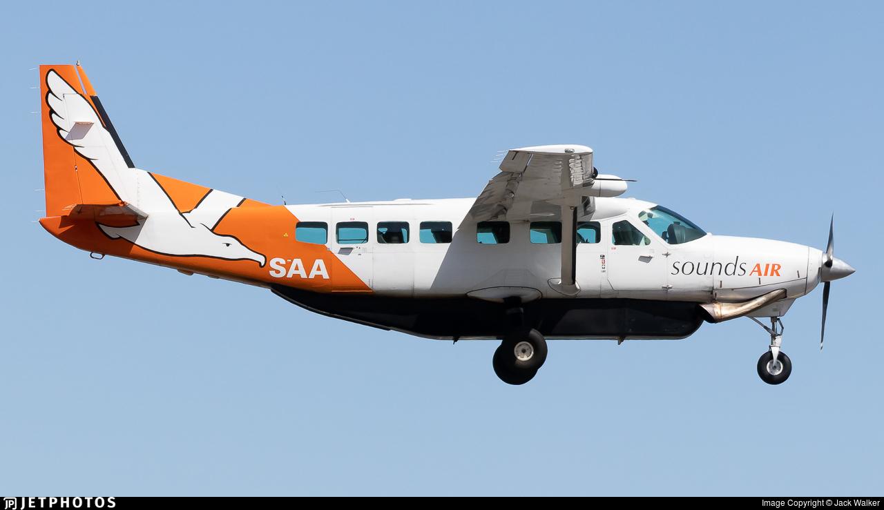 ZK-SAA - Cessna 208B Grand Caravan - Sounds Air