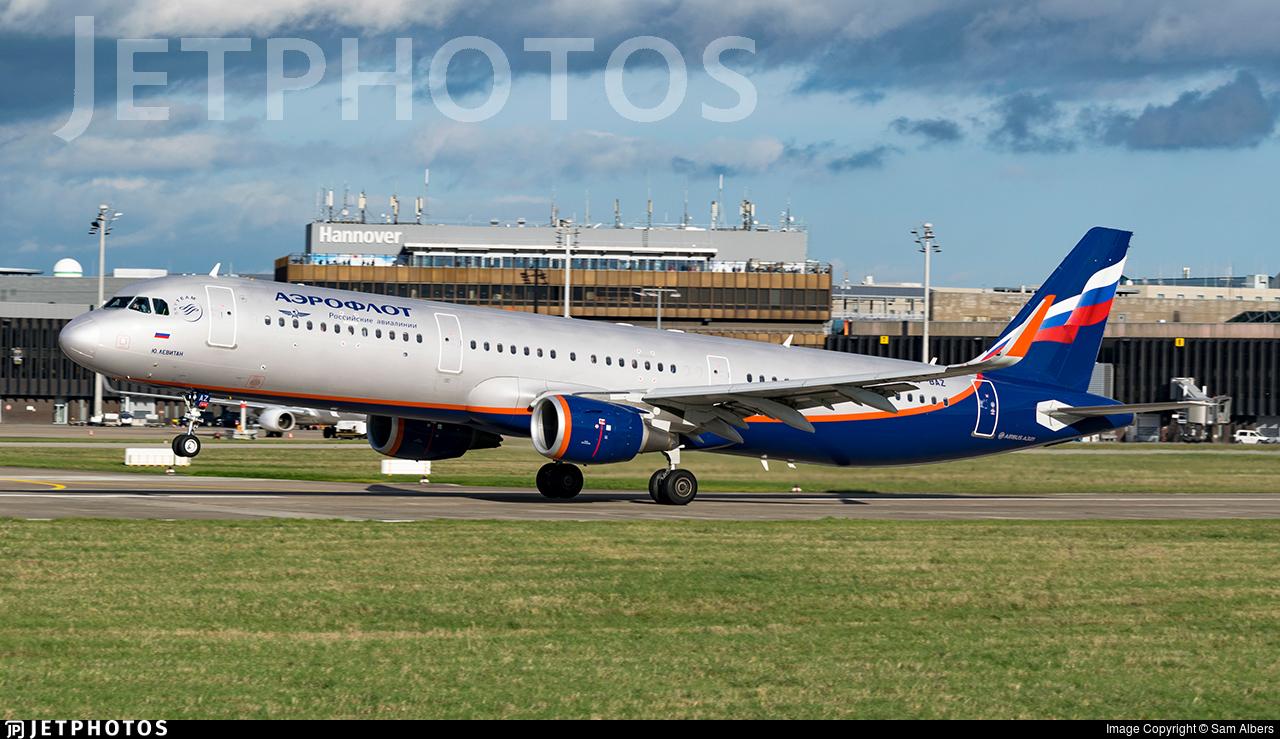 VP-BAZ - Airbus A321-211 - Aeroflot