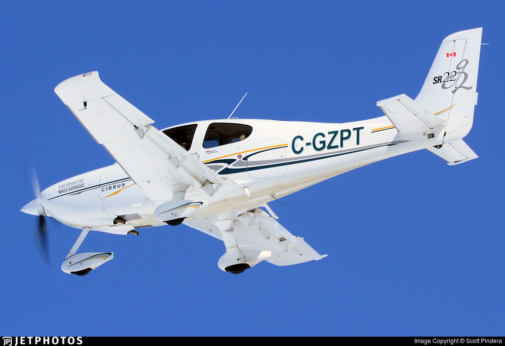 C-GZPT - Cirrus SR22-G2 - Private