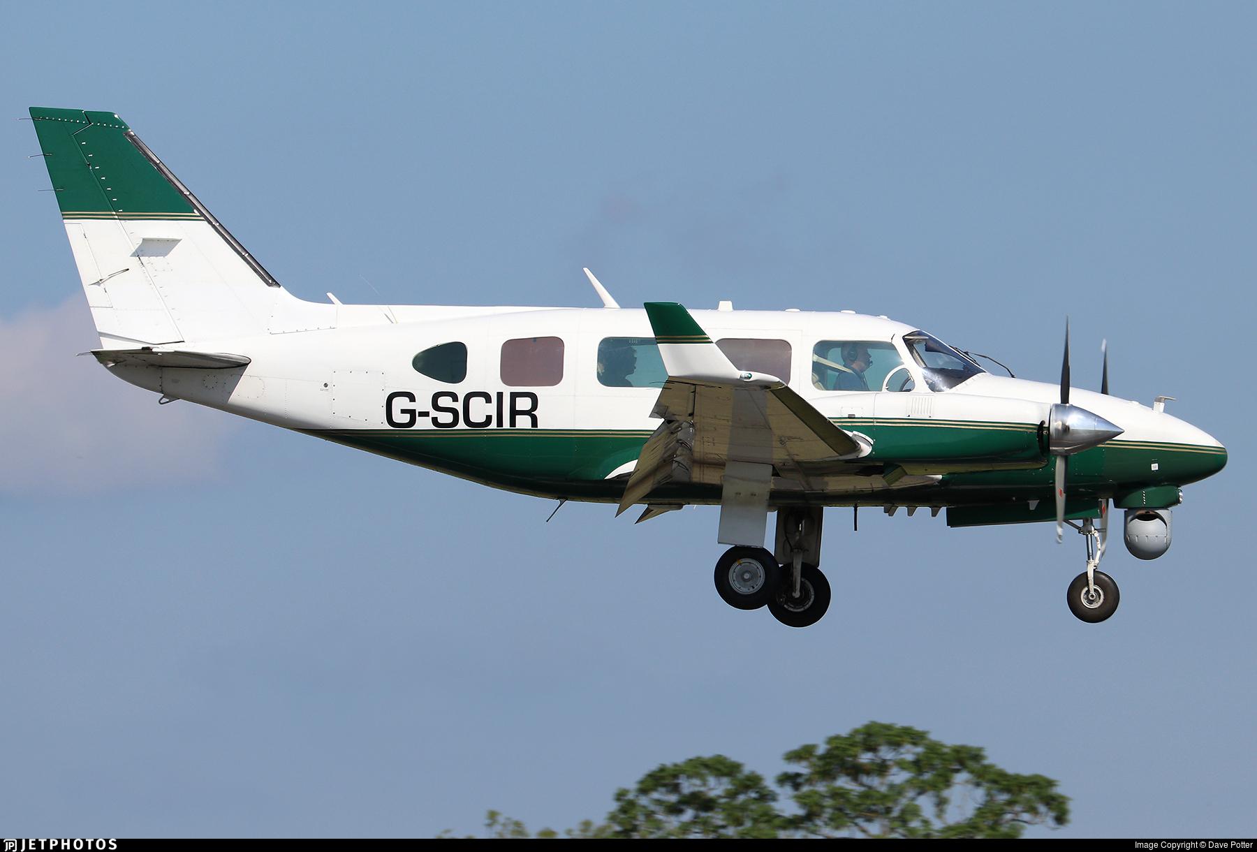 G-SCIR - Piper PA-31-310 Navajo C - 2 Excel Aviation
