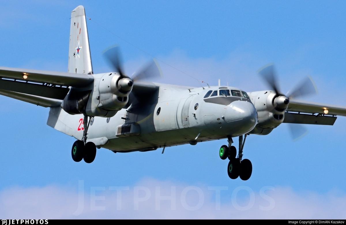 RF-36008 - Antonov An-26 - Russia - Air Force