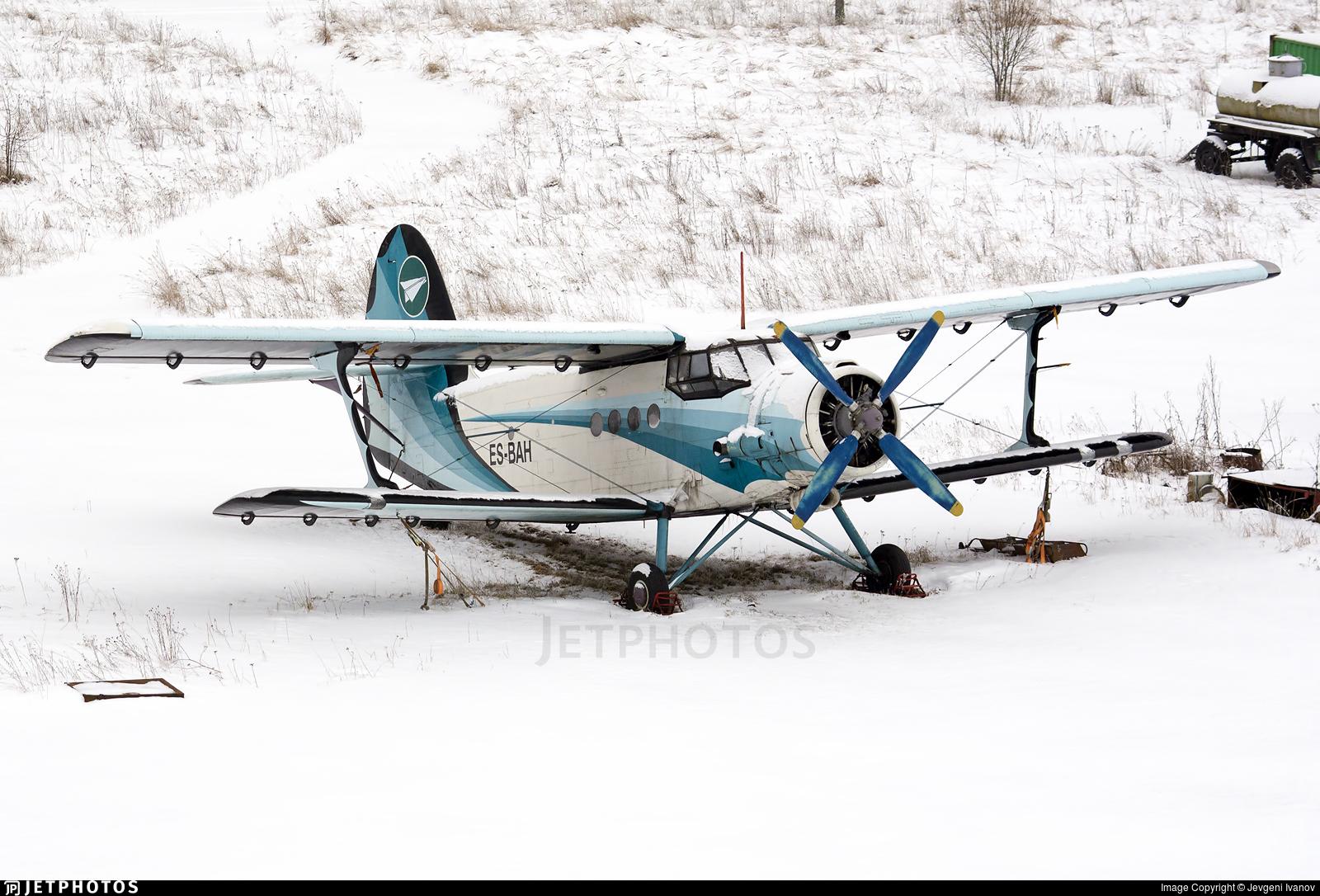 ES-BAH - PZL-Mielec An-2 - Private