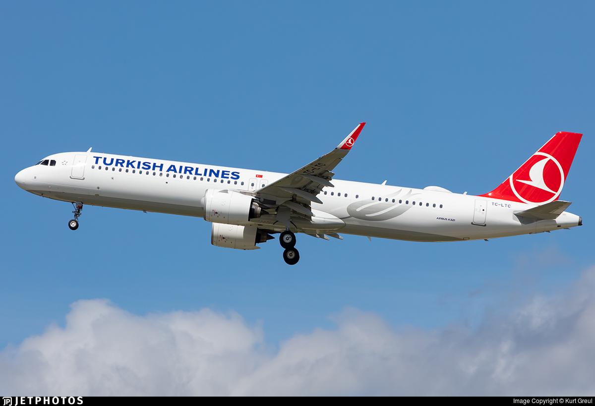 TC-LTC - Airbus A321-271NX - Turkish Airlines