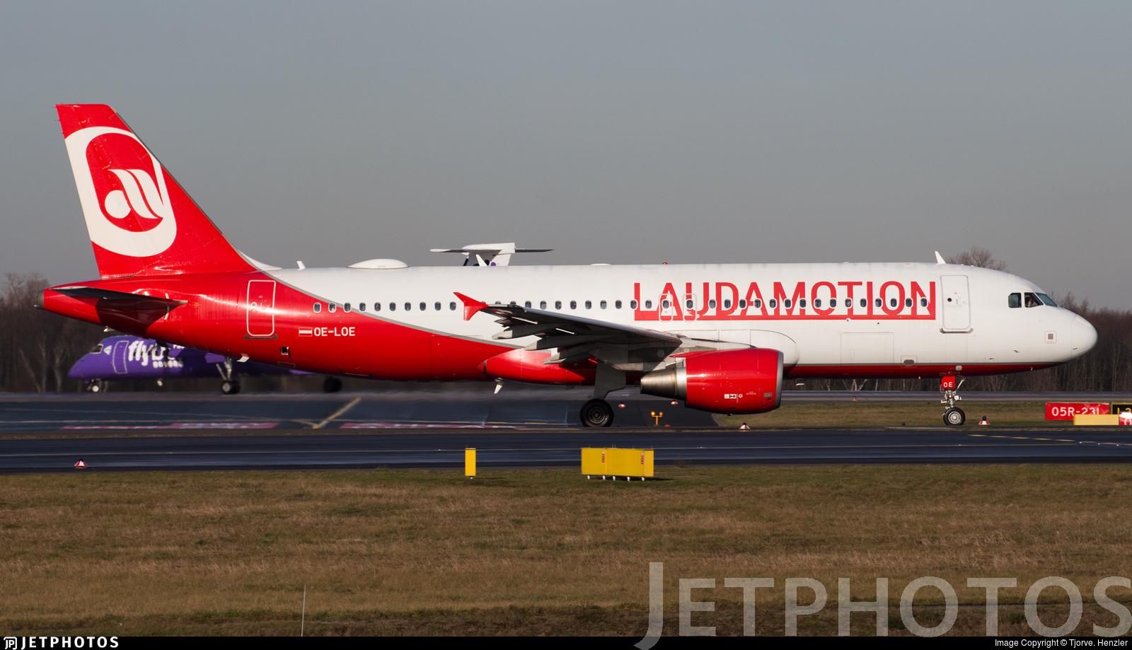 OE-LOE - Airbus A320-232 - LaudaMotion