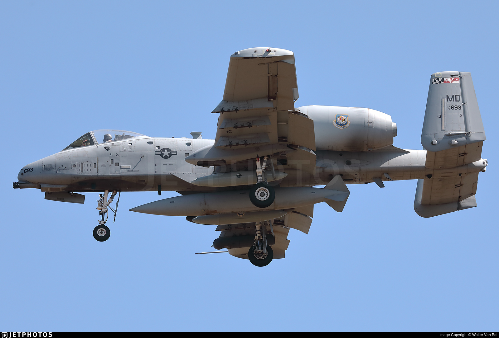 78-0693 - Fairchild A-10C Thunderbolt II - United States - US Air Force (USAF)