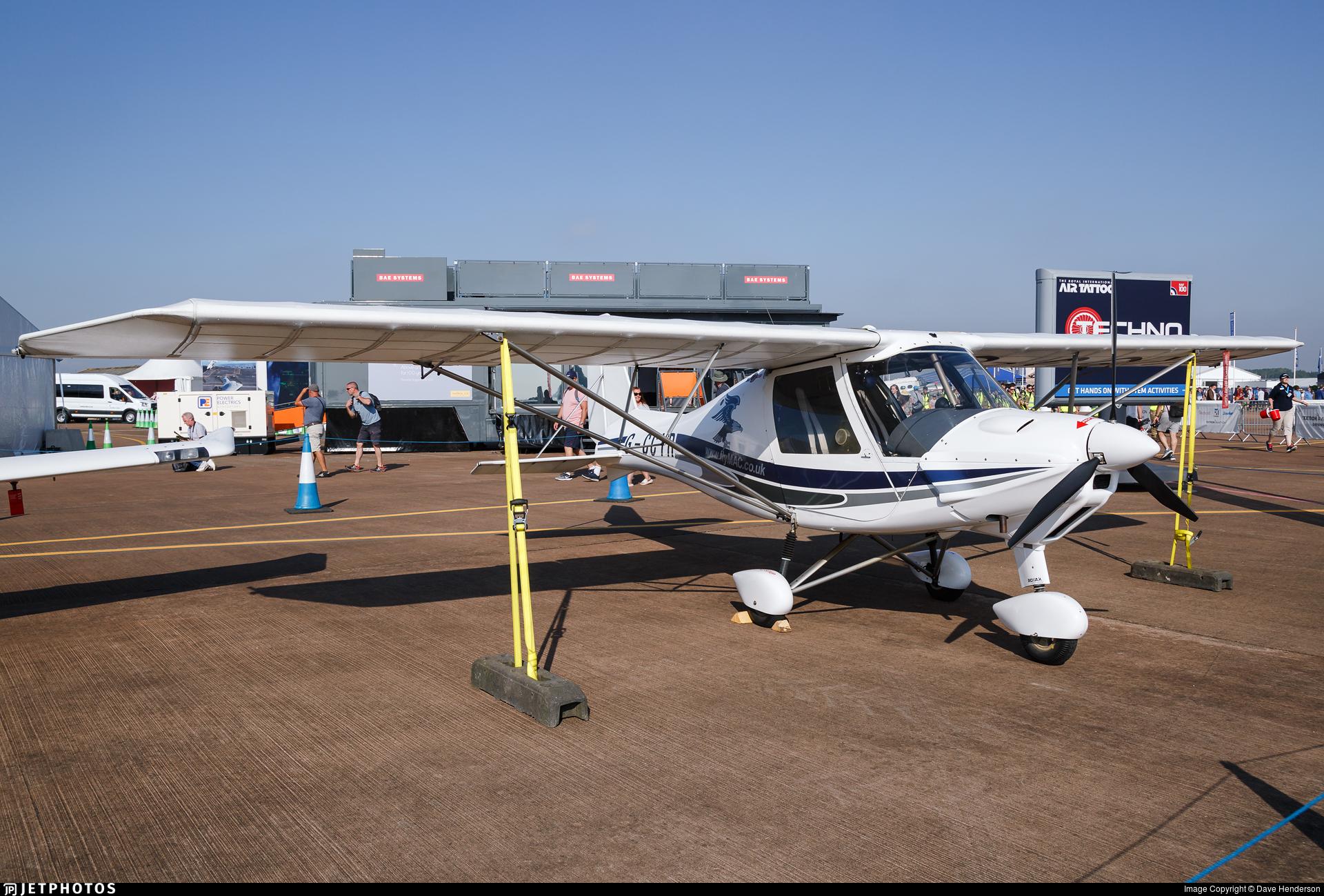 G-CCYR - Ikarus C-42 - AirBourne Aviation