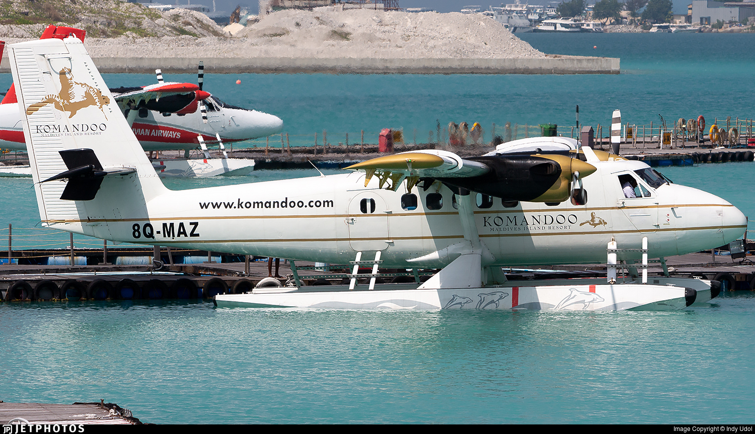 8Q-MAZ - De Havilland Canada DHC-6-300 Twin Otter - Trans Maldivian Airways