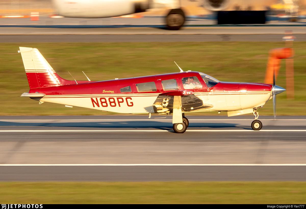 N88PG - Piper PA-32R-301 Saratoga SP - Private