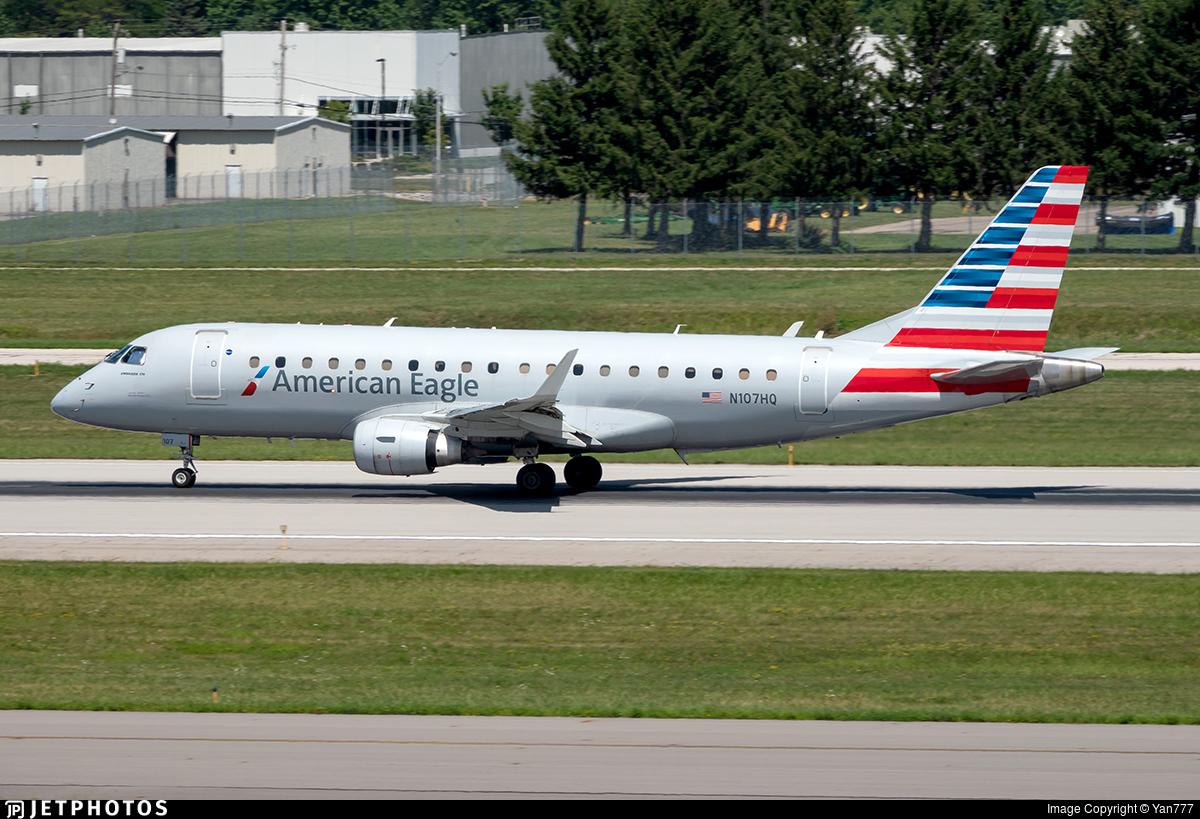 N107HQ - Embraer 170-200LR - American Eagle (Republic Airways)