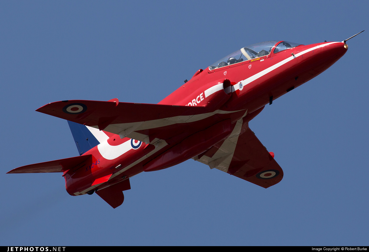 XX245 - British Aerospace Hawk T.1 - United Kingdom - Royal Air Force (RAF)