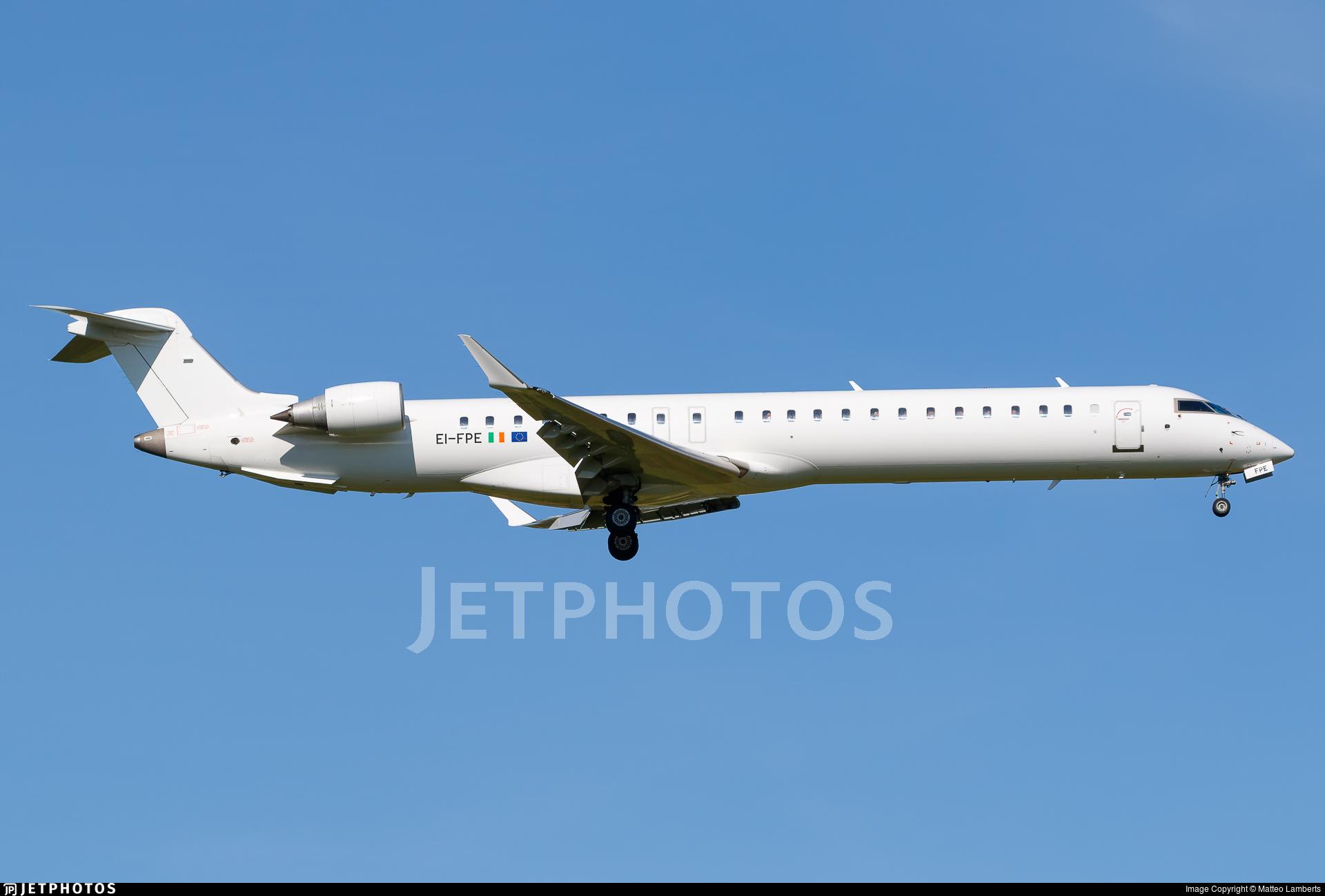 EI-FPE - Bombardier CRJ-900LR - CityJet