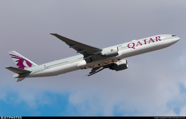 A7-BEQ - Boeing 777-3DZER - Qatar Airways