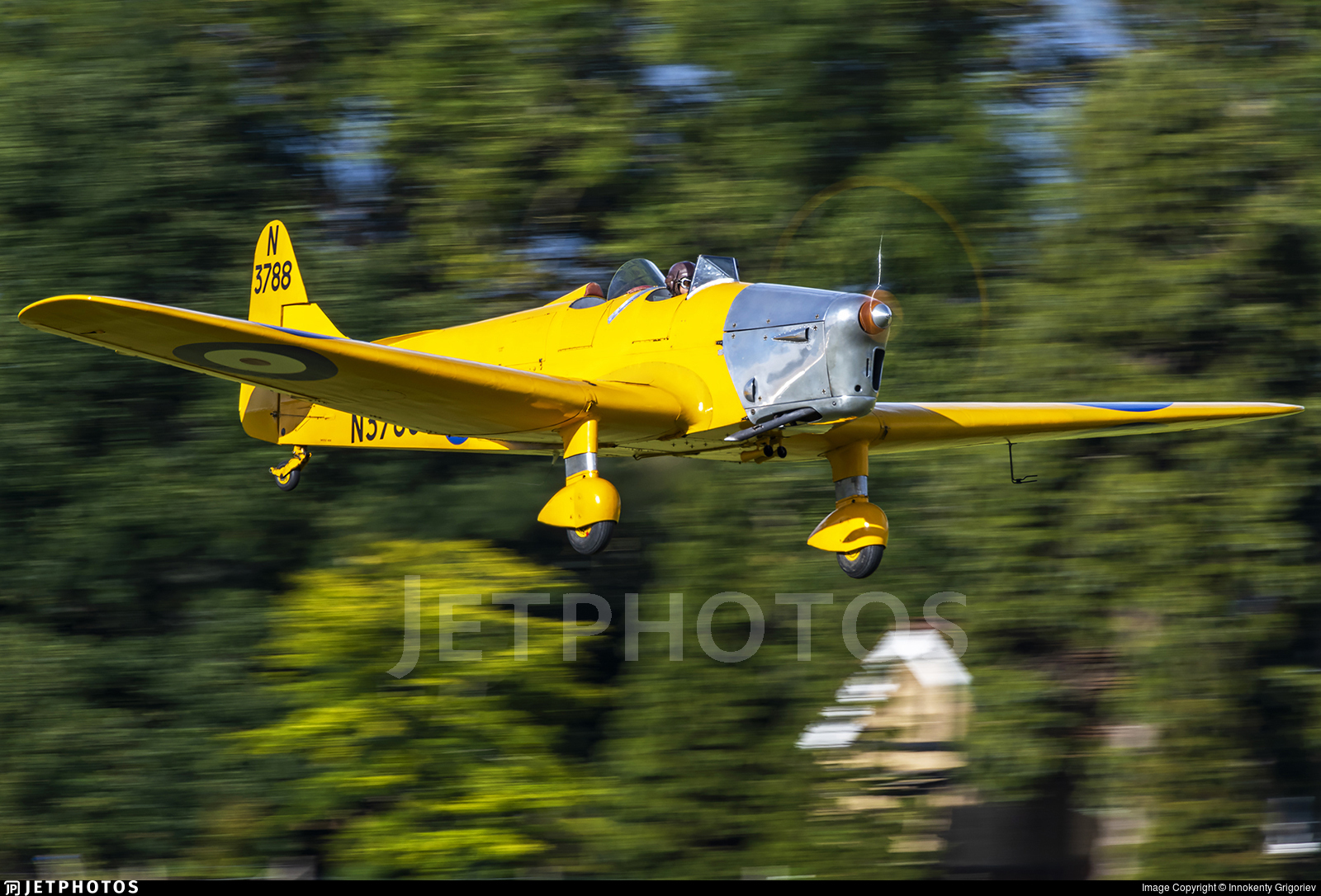 G-AKPF - Miles M14A Magister - Private