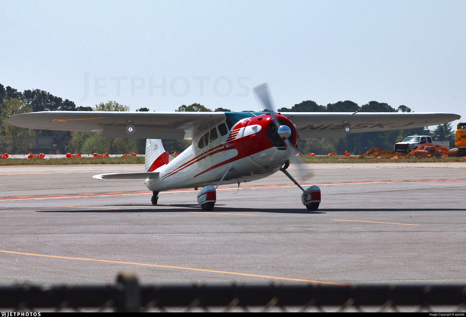 N195KJ - Cessna 195B - Private