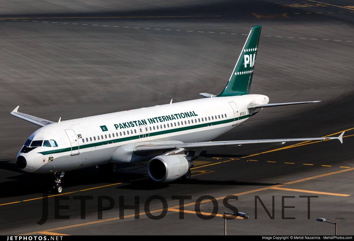 AP-BLA - Airbus A320-214 - Pakistan International Airlines (PIA)
