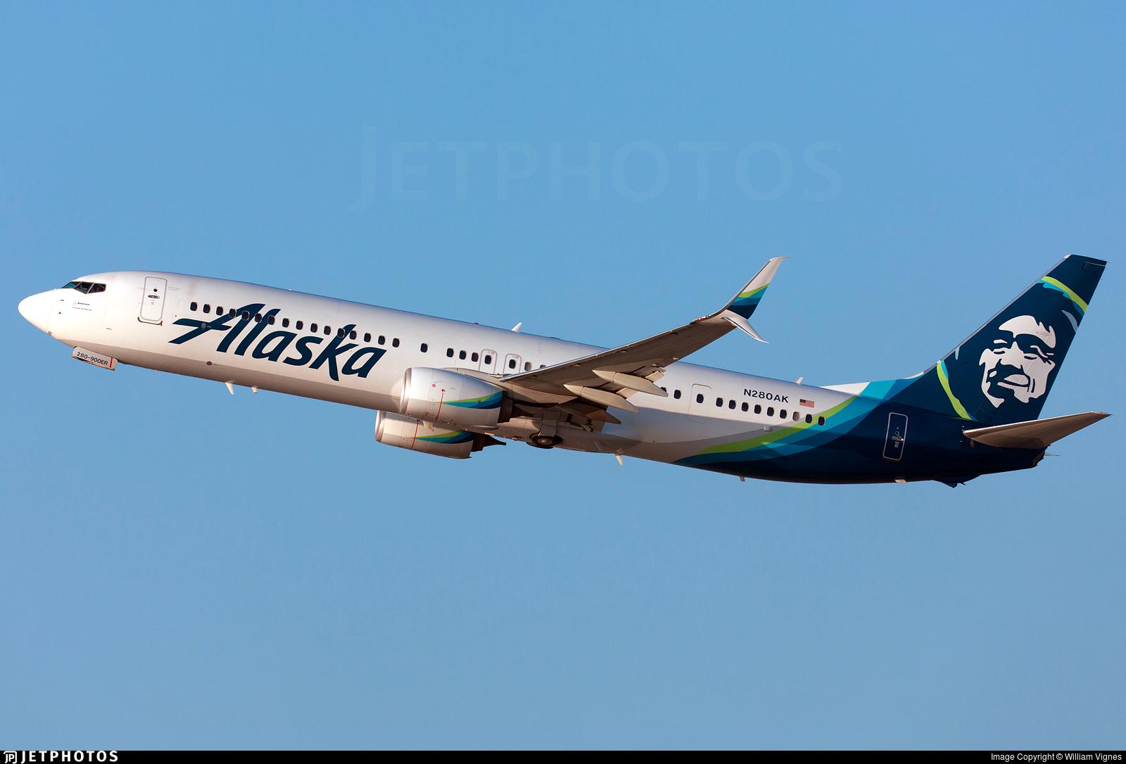 N280AK - Boeing 737-990ER - Alaska Airlines