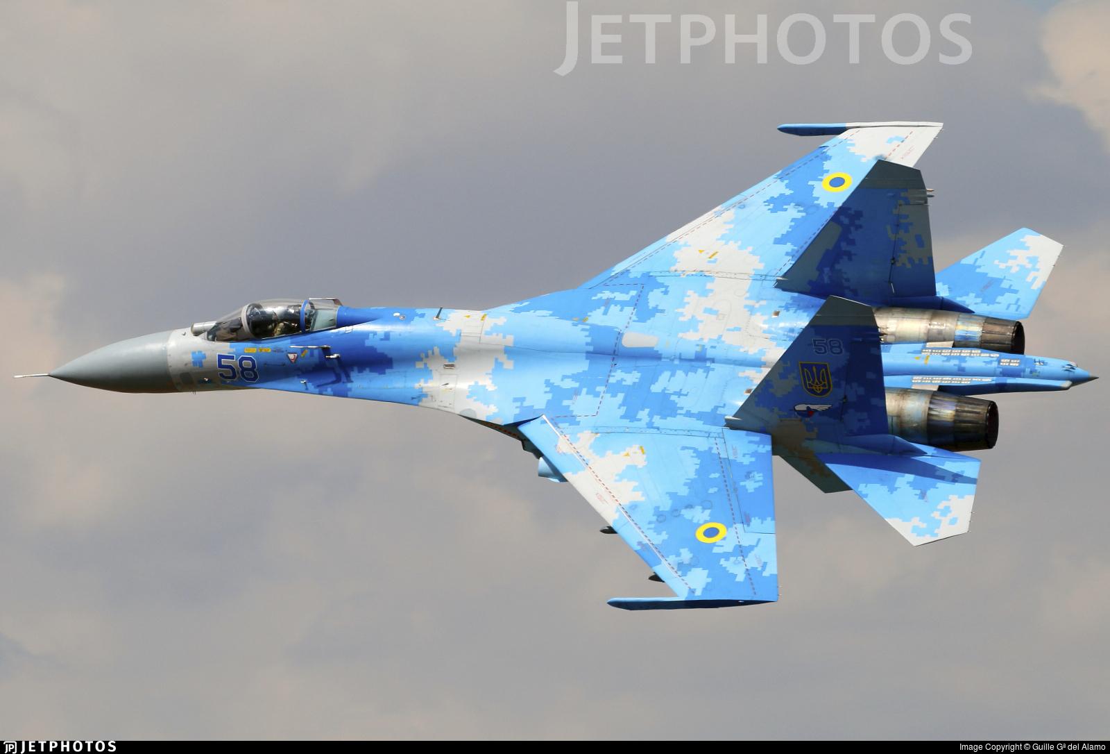 58 - Sukhoi Su-27P Flanker - Ukraine - Air Force
