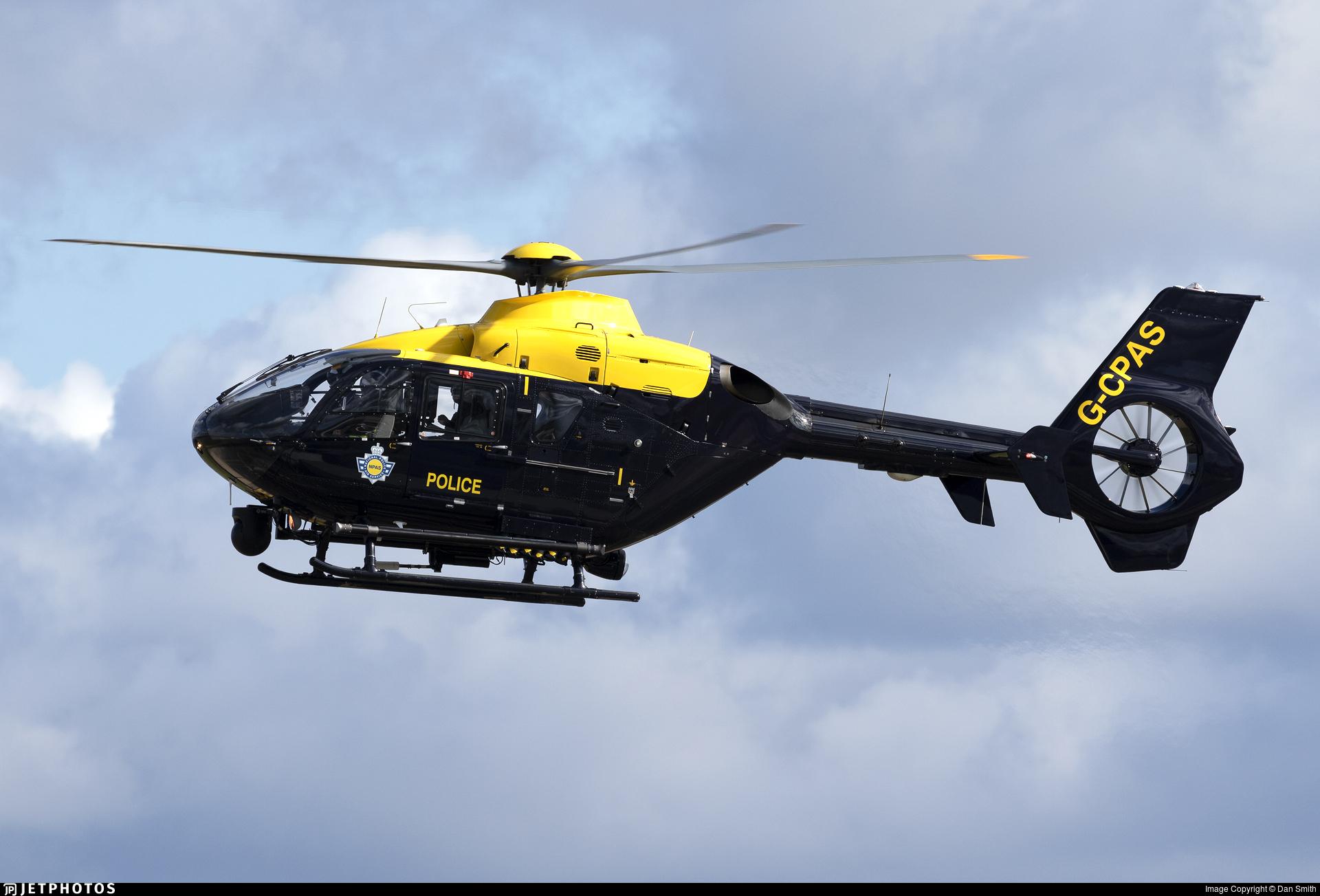 G-CPAS - Eurocopter EC 135P2+ - United Kingdom - Police
