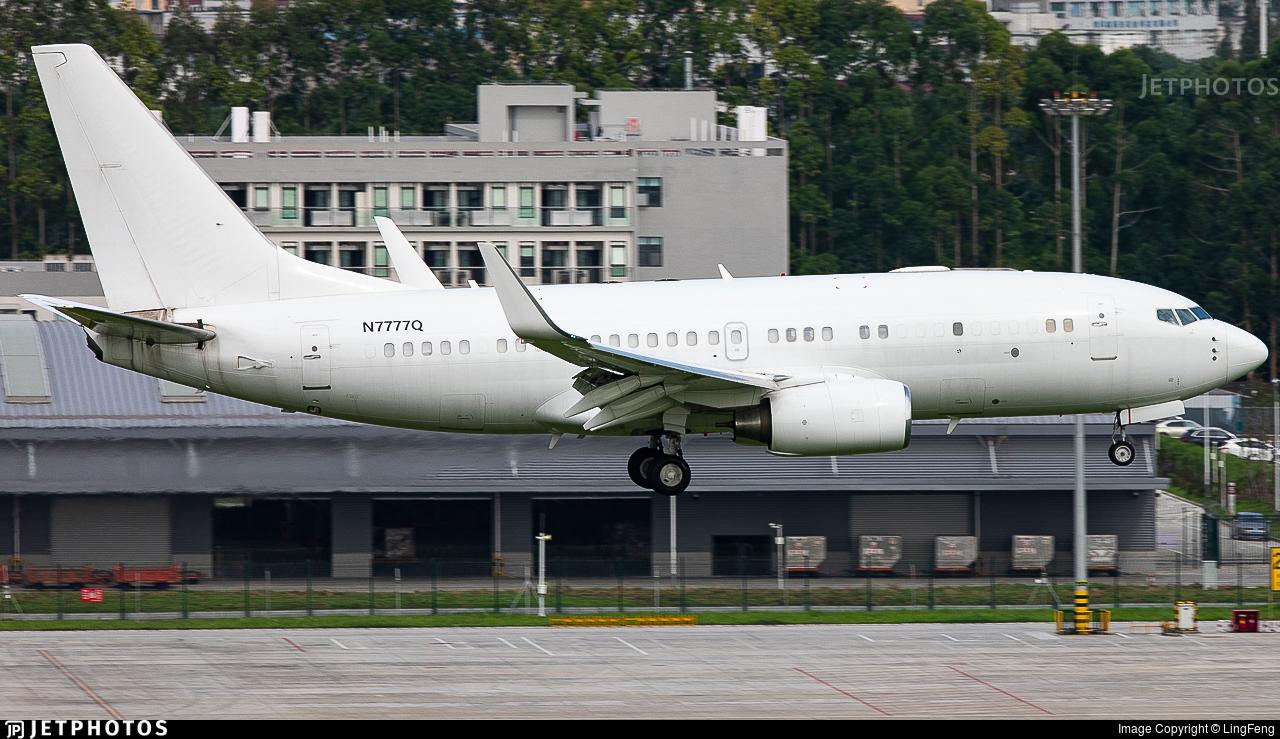 N7777Q - Boeing 737-7BC(BBJ) - Private