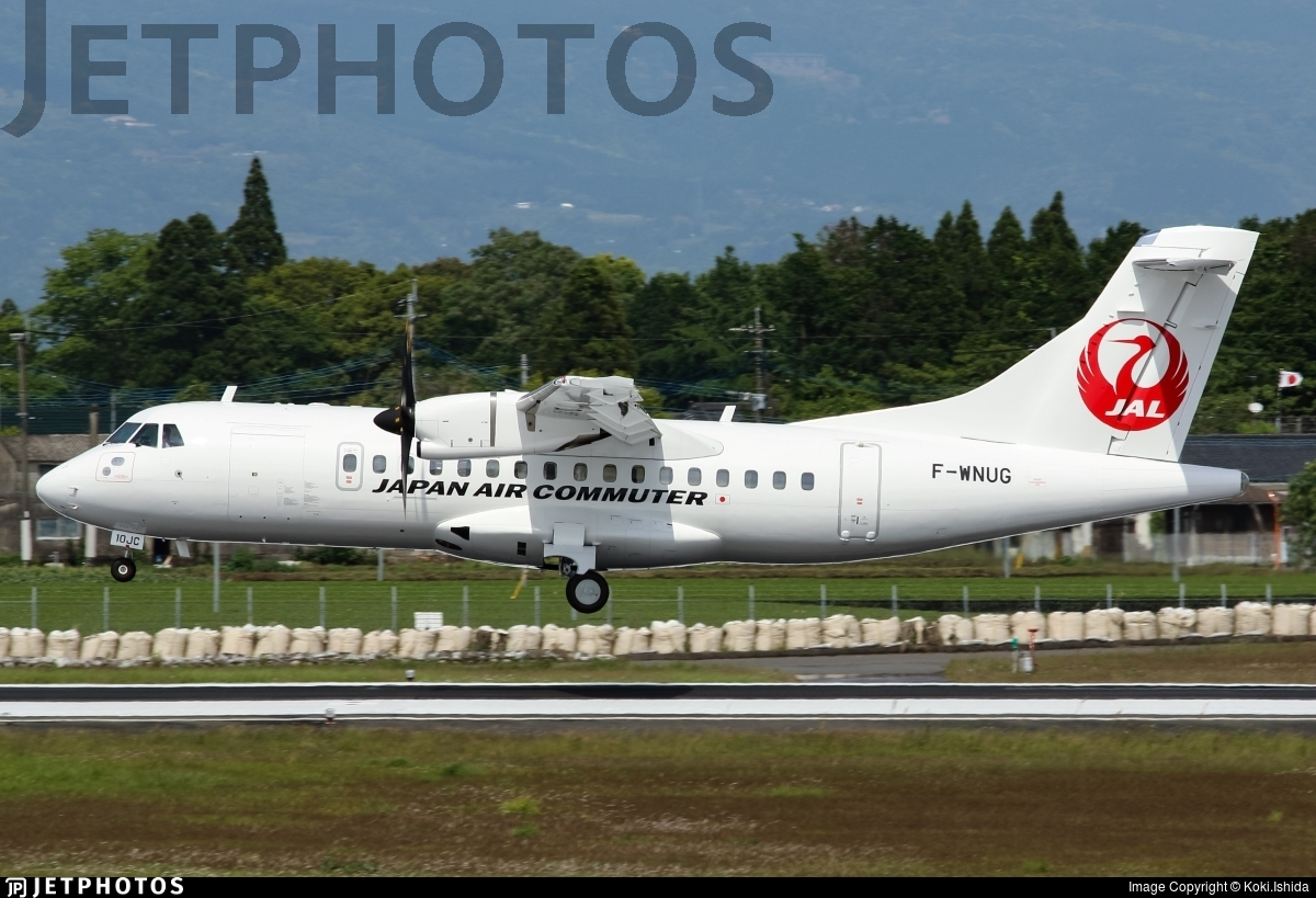 F-WNUG - ATR 72-212A(600) - Japan Air Commuter (JAC)