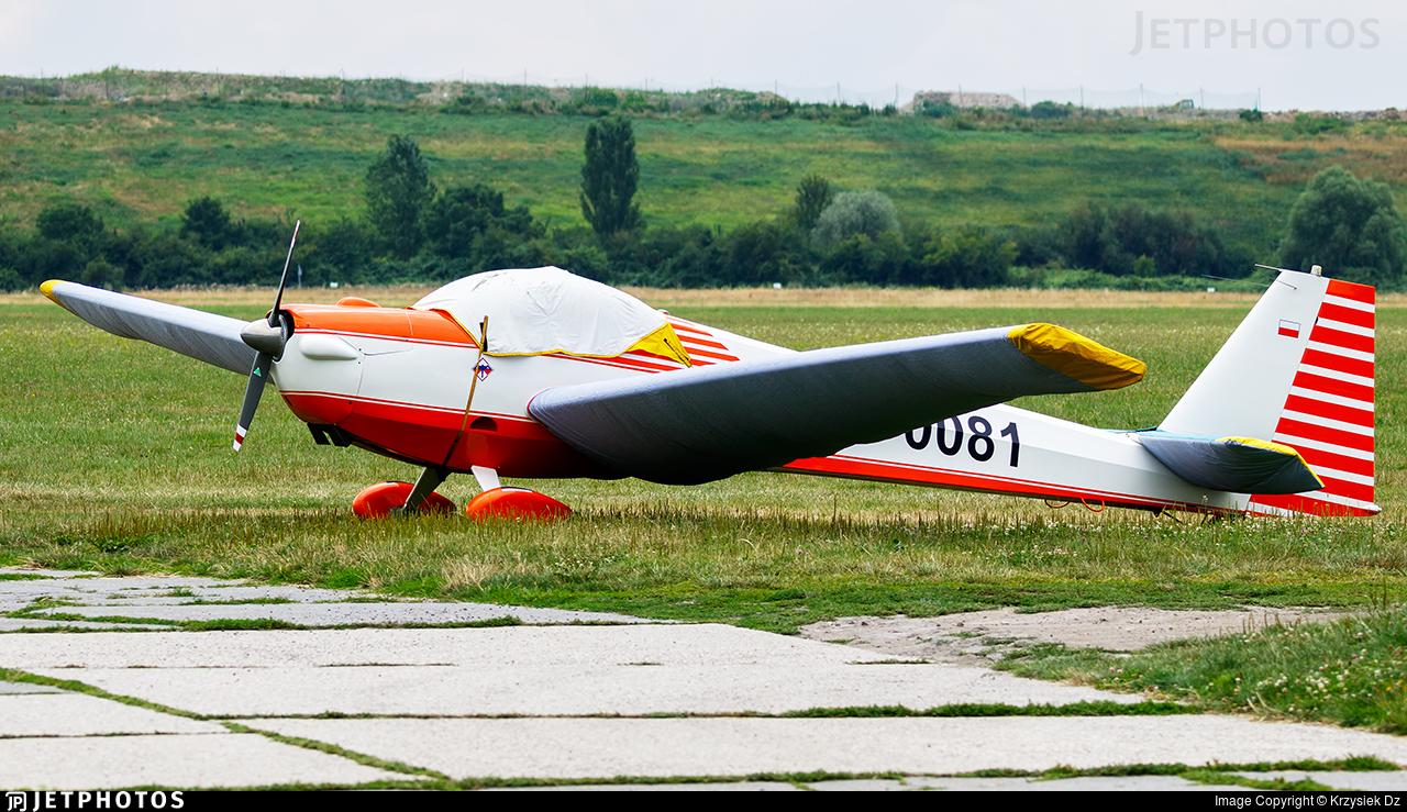SP-0081 - Scheibe SF.25C Falke - Aeroklub Gliwicki
