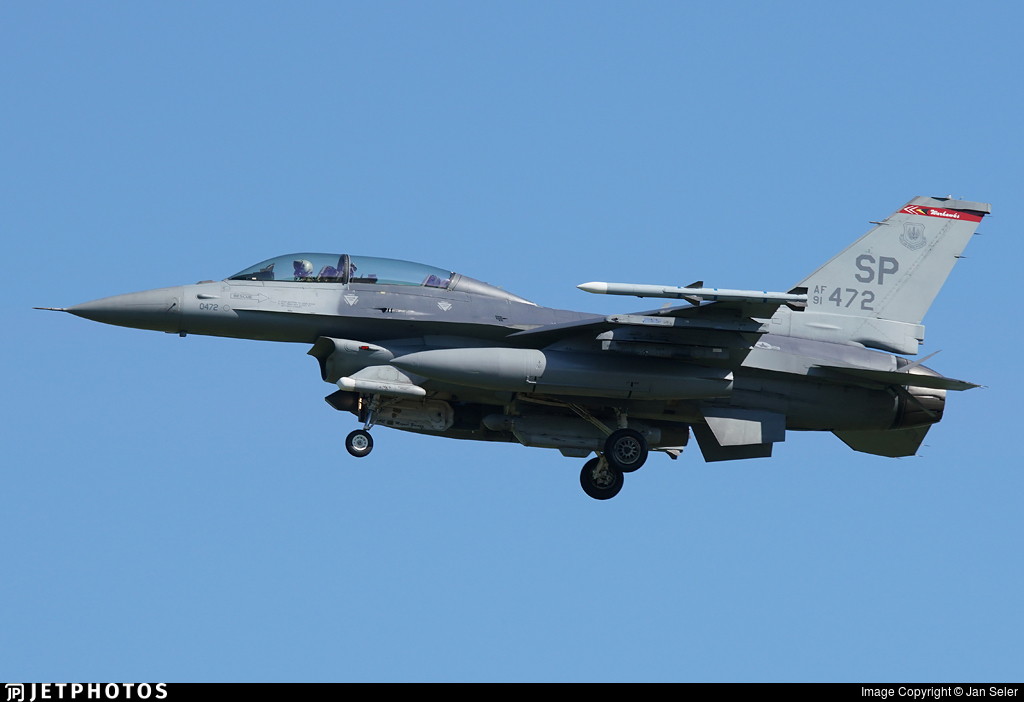 91-0472 - Lockheed Martin F-16DJ Fighting Falcon - United States - US Air Force (USAF)