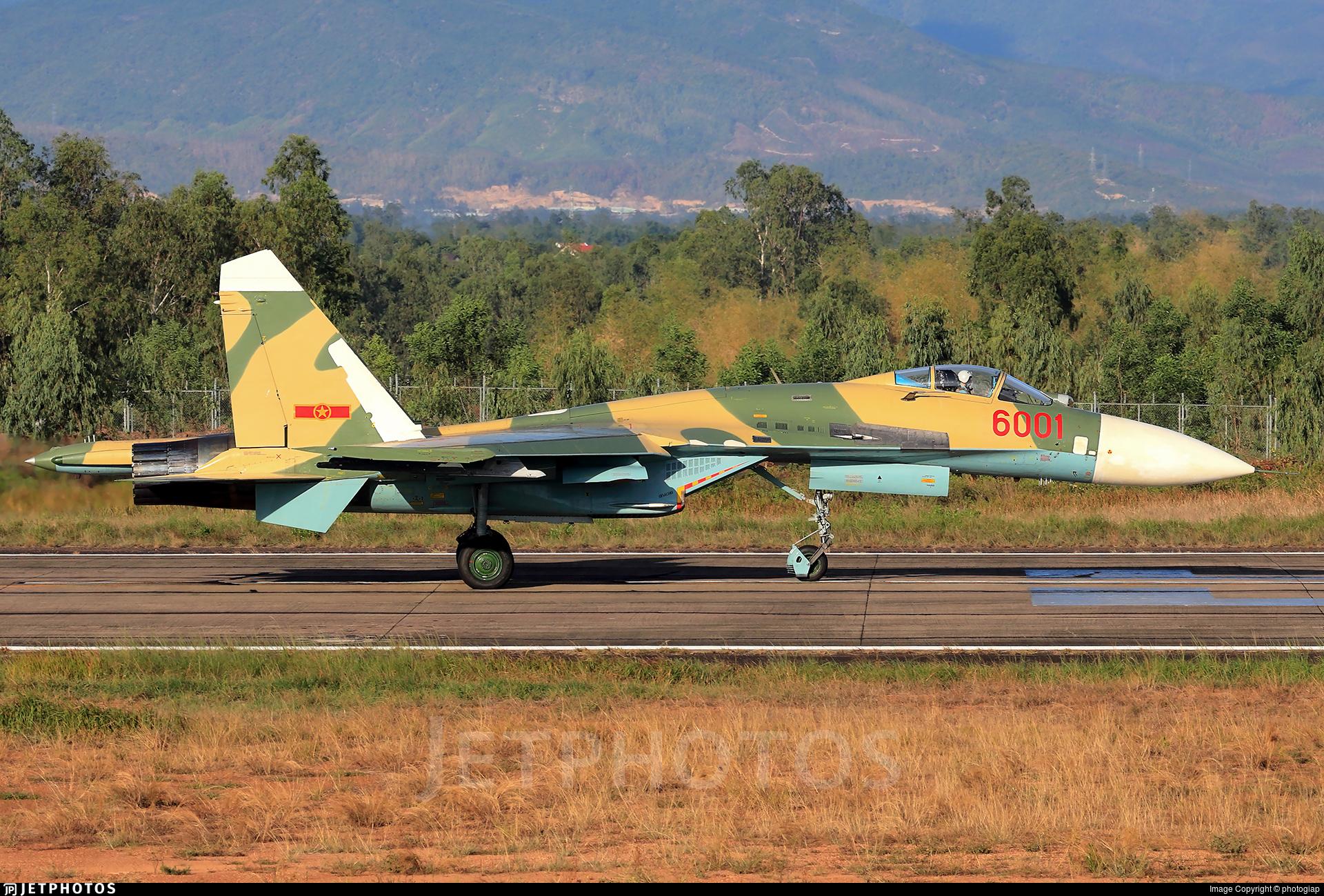 6001 - Sukhoi Su-27SK Flanker  - Vietnam - Air Force
