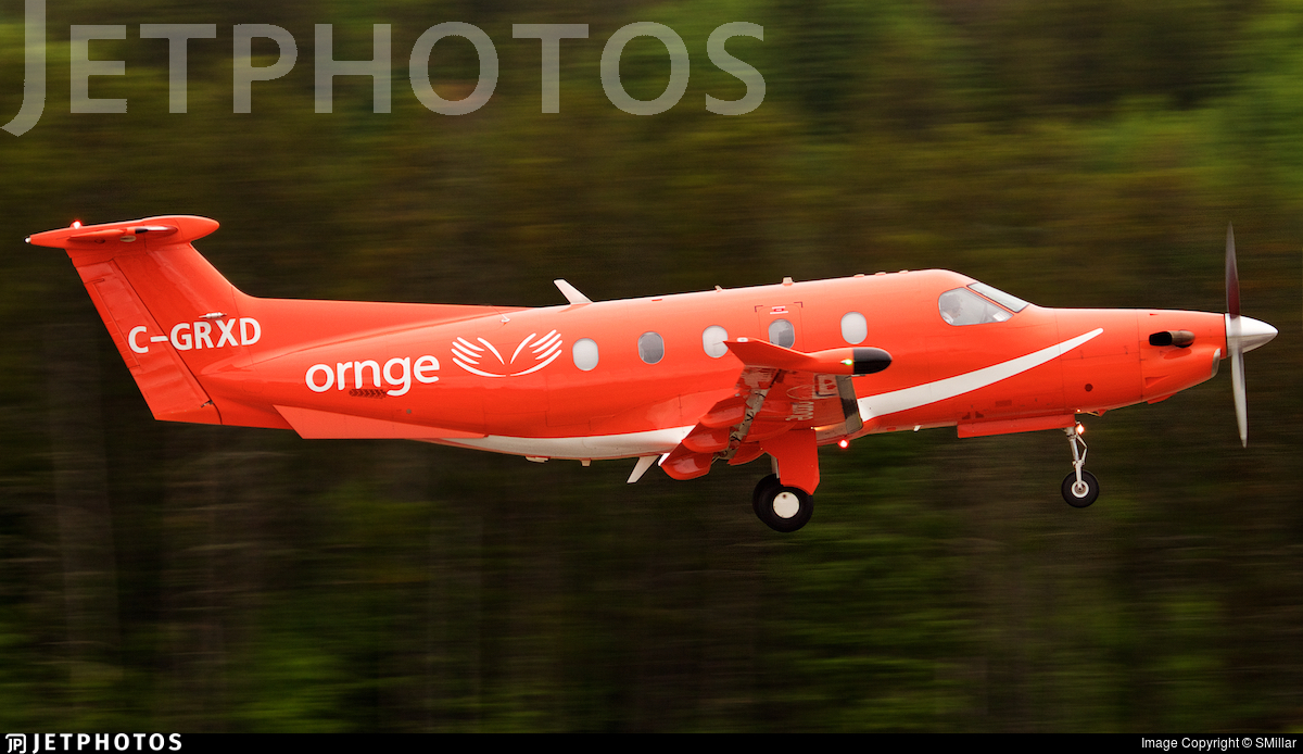 C-GRXD - Pilatus PC-12/47E - Ornge Global Air Inc.
