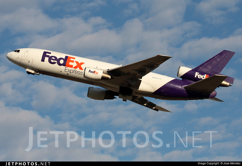 N68049 - McDonnell Douglas MD-10-10(F) - Fed Ex