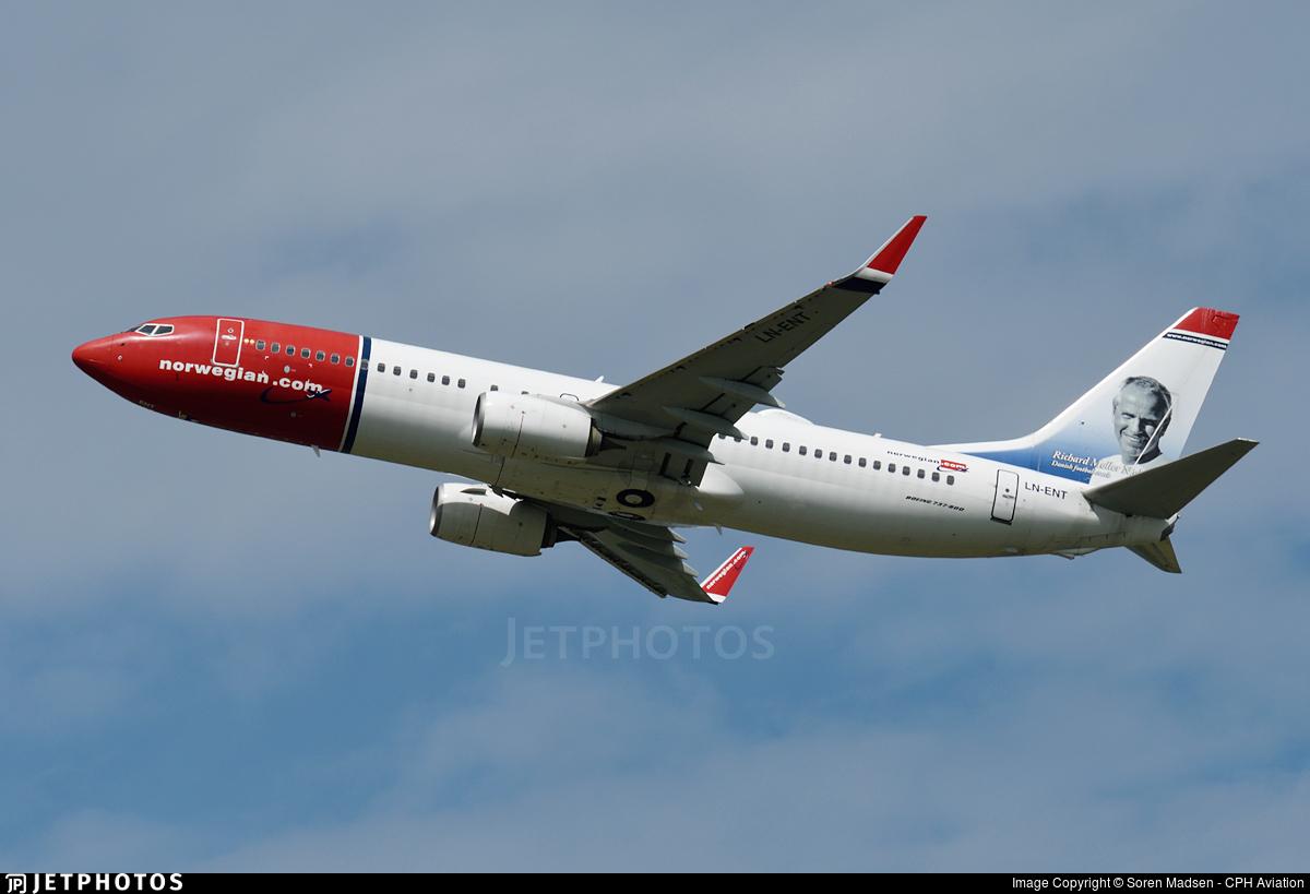LN-ENT - Boeing 737-8JP - Norwegian