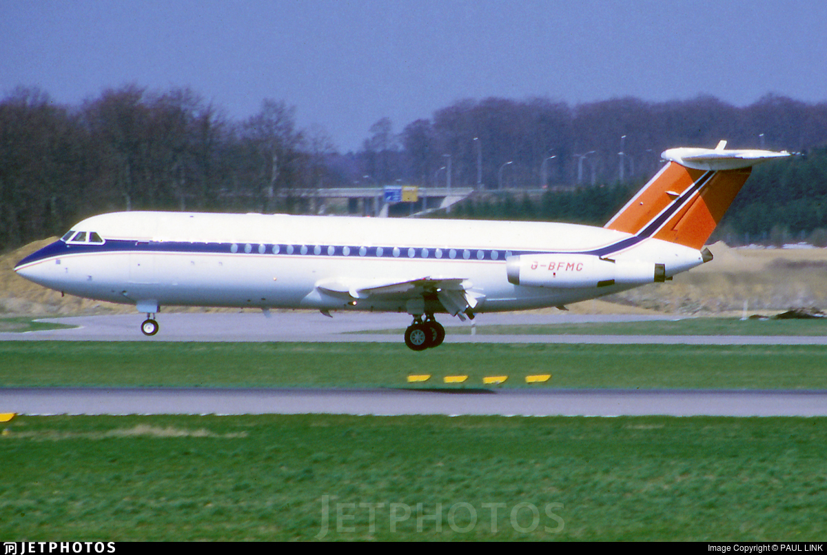 G-BFMC - British Aircraft Corporation BAC 1-11 Series 414EG - Ford Motor Company