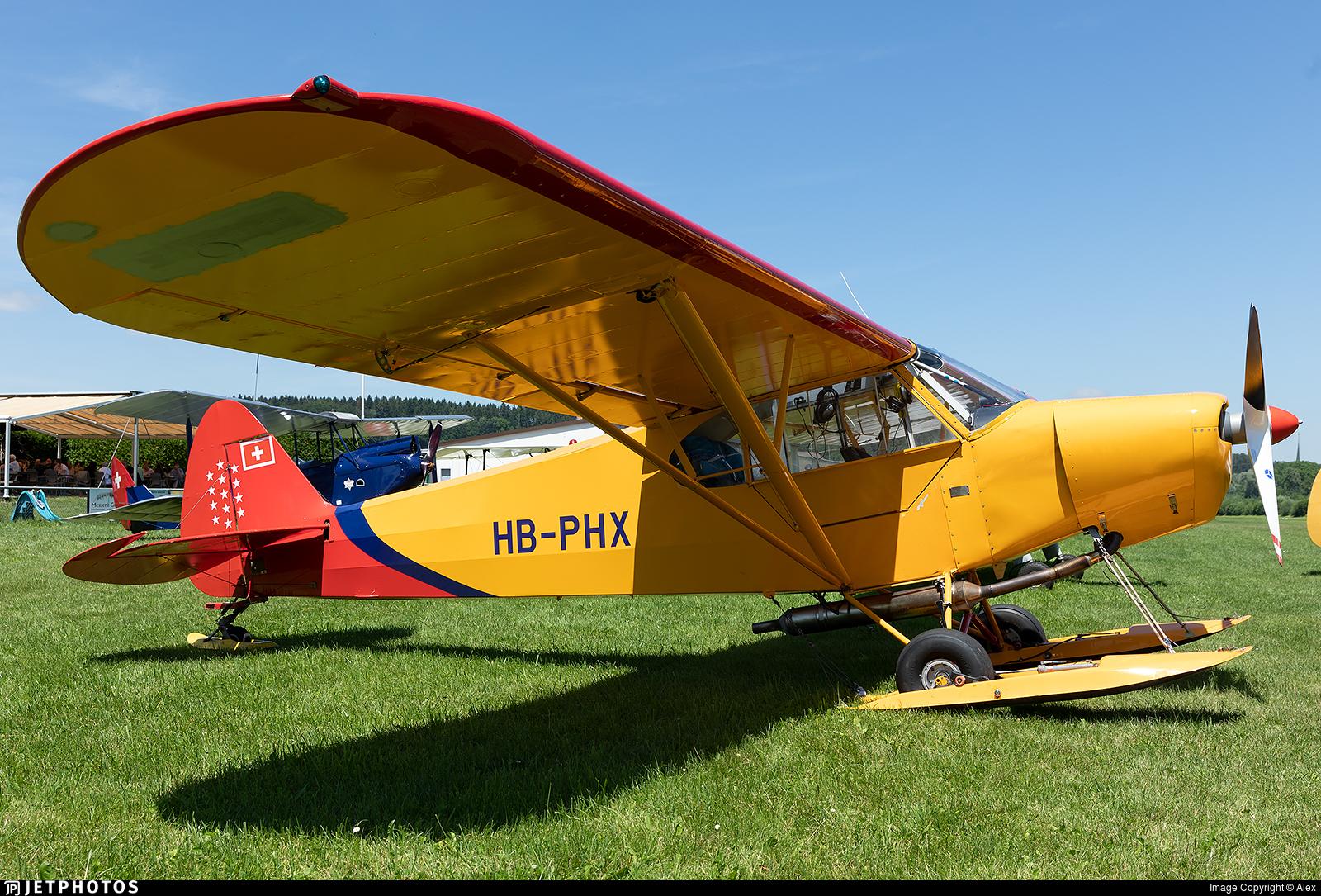 HB-PHX - Piper PA-18 Super Cub - Private