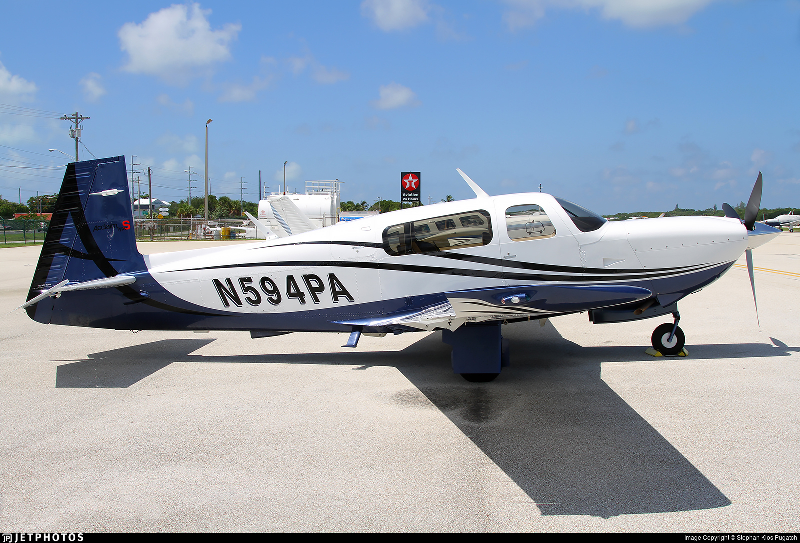 N594PA - Mooney M20TN Acclaim - Private