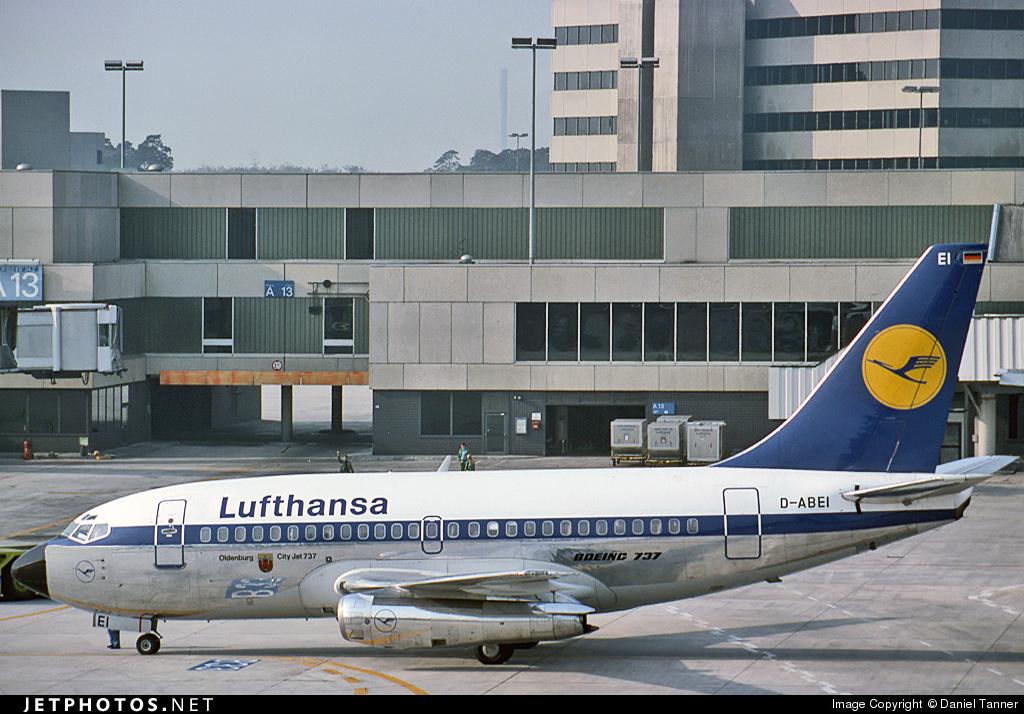 D-ABEI - Boeing 737-130 - Lufthansa