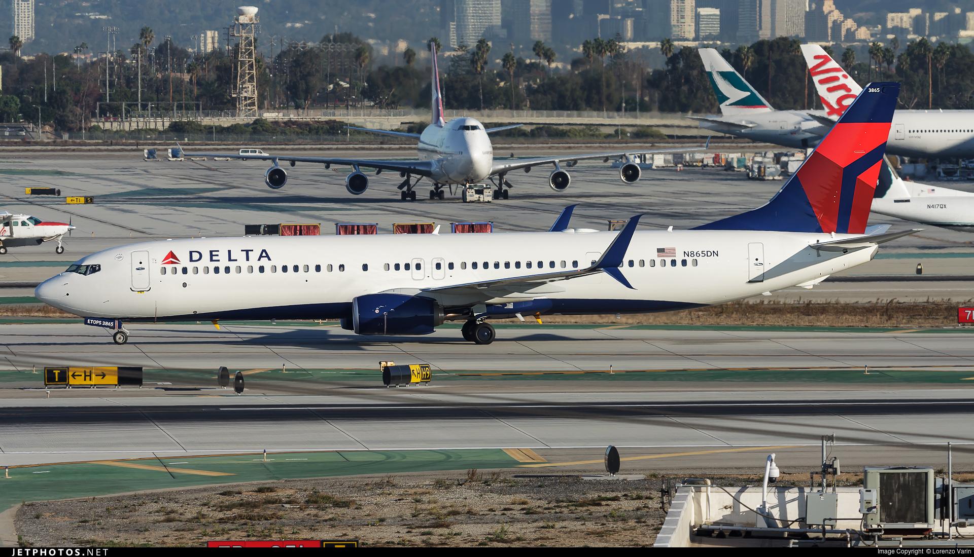 N865DN - Boeing 737-932ER - Delta Air Lines